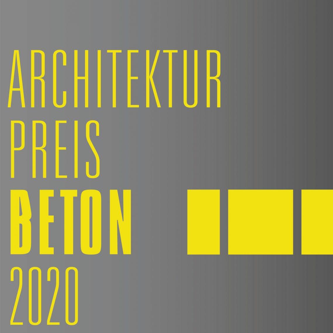 Architekturpreis Beton
