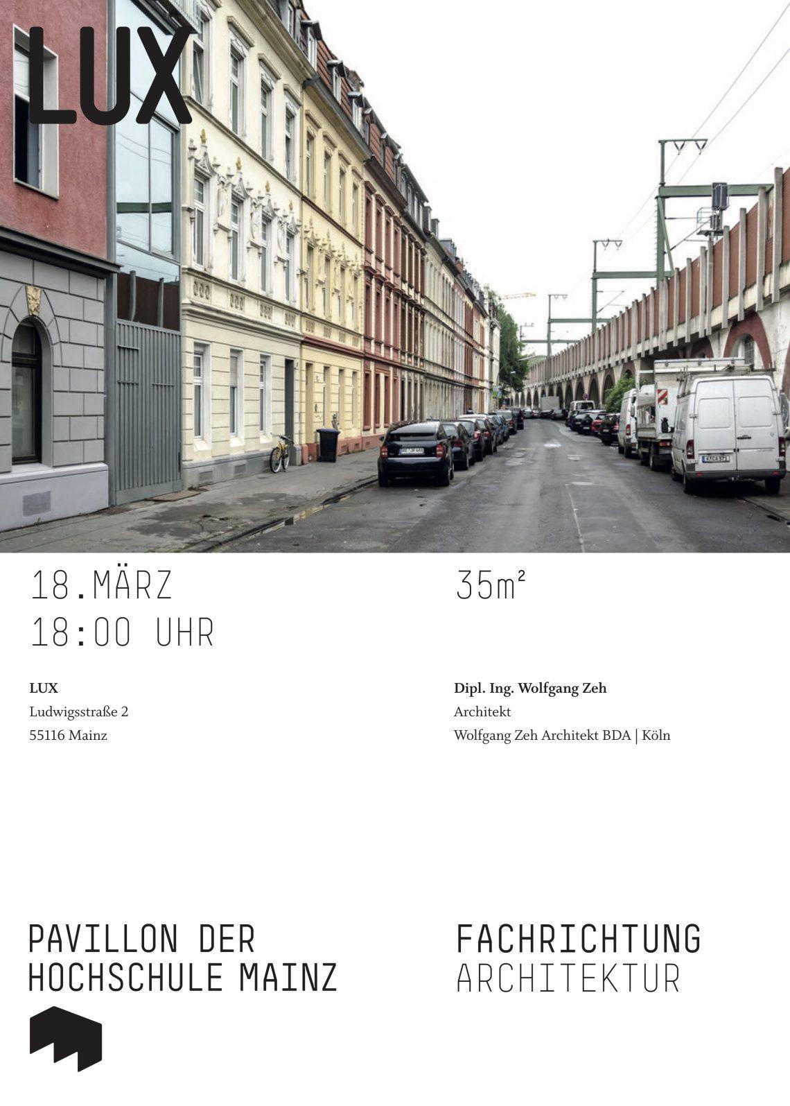 Vortrag in Mainz