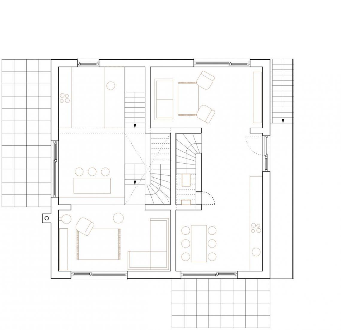 doppelhaus bonn wolfgang zeh architekt. Black Bedroom Furniture Sets. Home Design Ideas